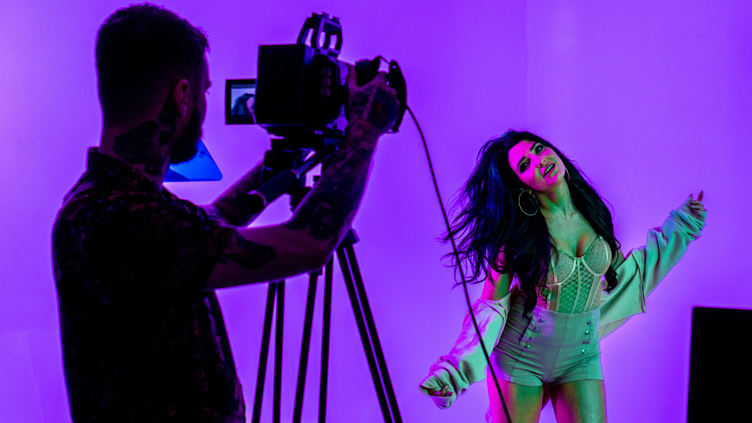 Aracara music video Ursa Mini 4.6K