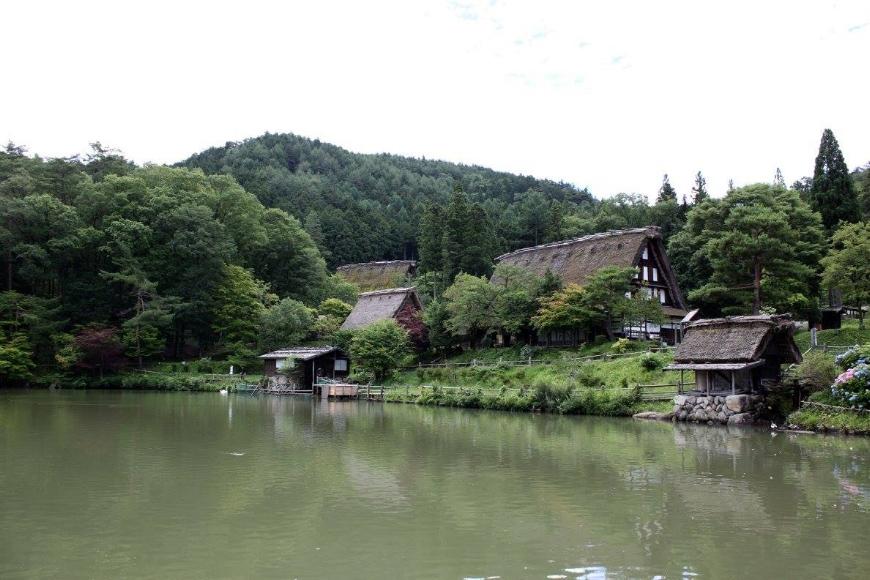 The Hida Folk Village in Takayama. (Photo: Chloe Berge)