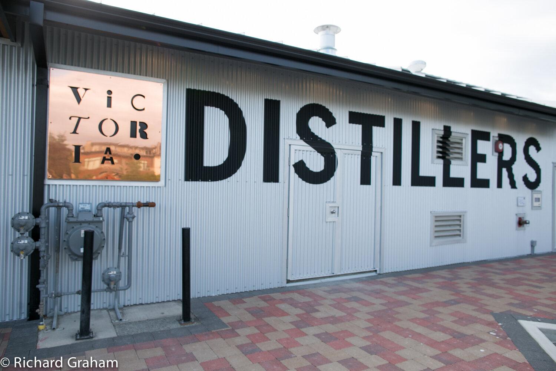 Victoria Distillers is best-known for their indigo-hued Empress Gin.  Richard Graham