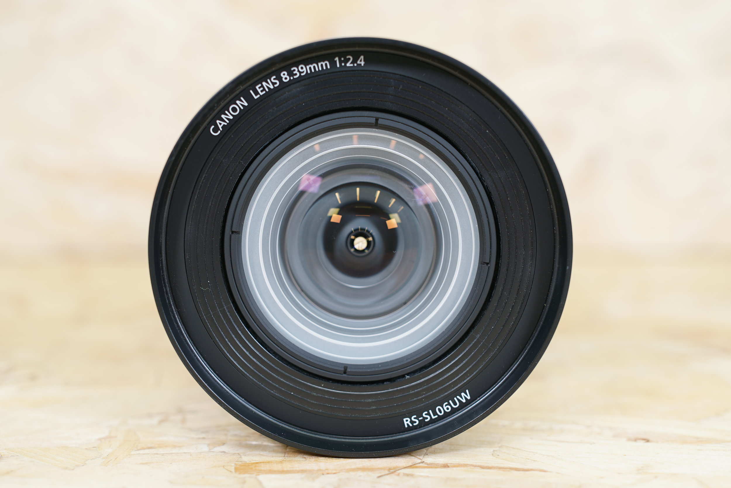 Canon projector lens ready for installation