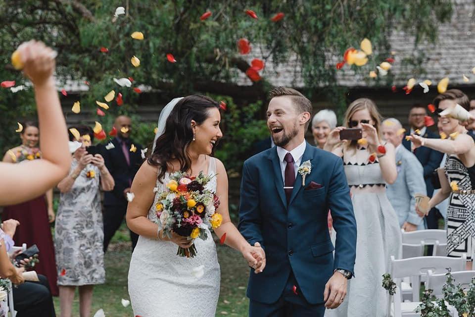 James & Lisa Photo: @folkstoneweddings