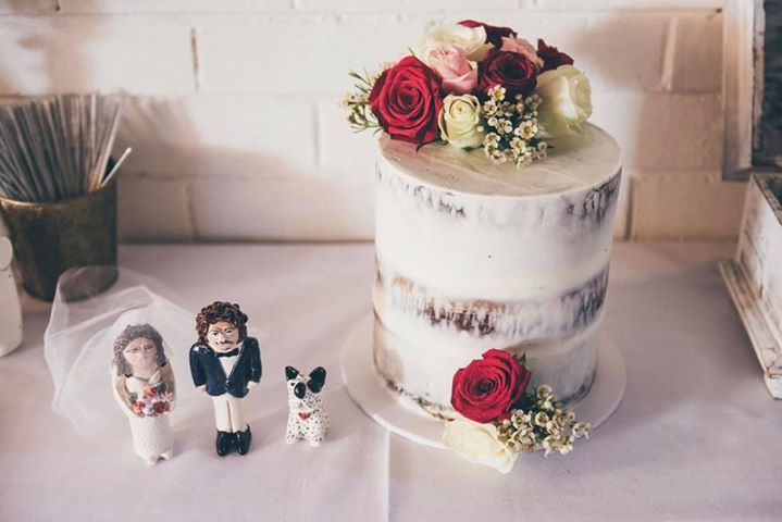 Alex & Campbell Cake: @pink_bow_cakes