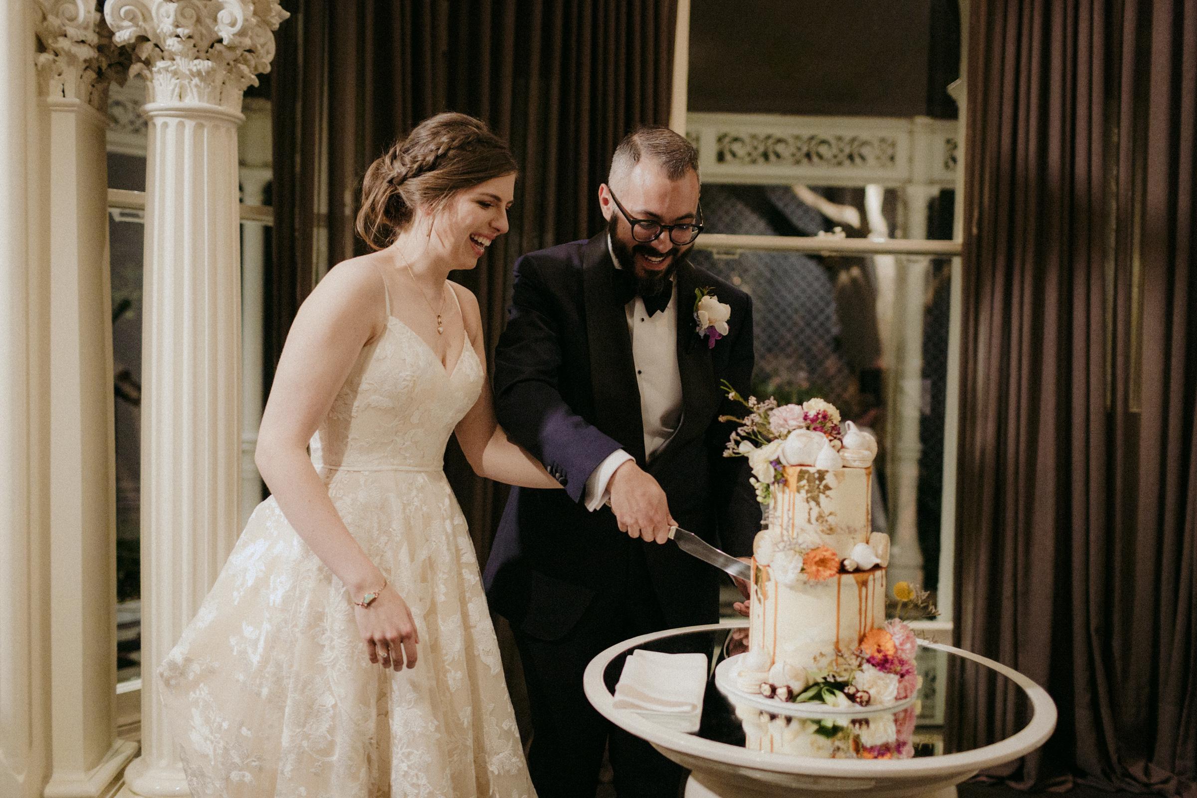 Nick & Lucinda Cake: @jycakedesigns