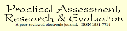 Practical Assessment, Research and Evaluation (Journal)