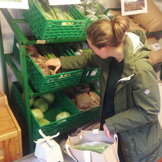 Selvbetjeningen i Bua er i gang! Du kan allerede bestille grønnsaker til neste uke i Bua 🥕 (link i bio)