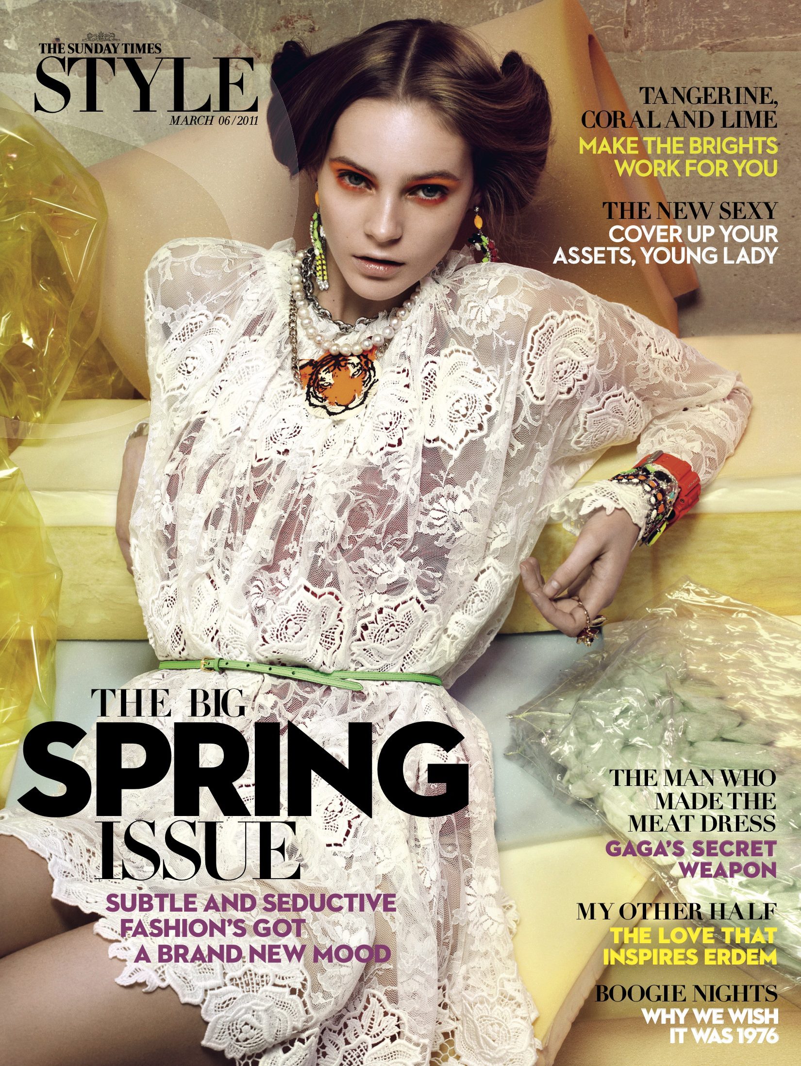 6th March, 2011. Fashion special. Cover shot by Katja Mayer.