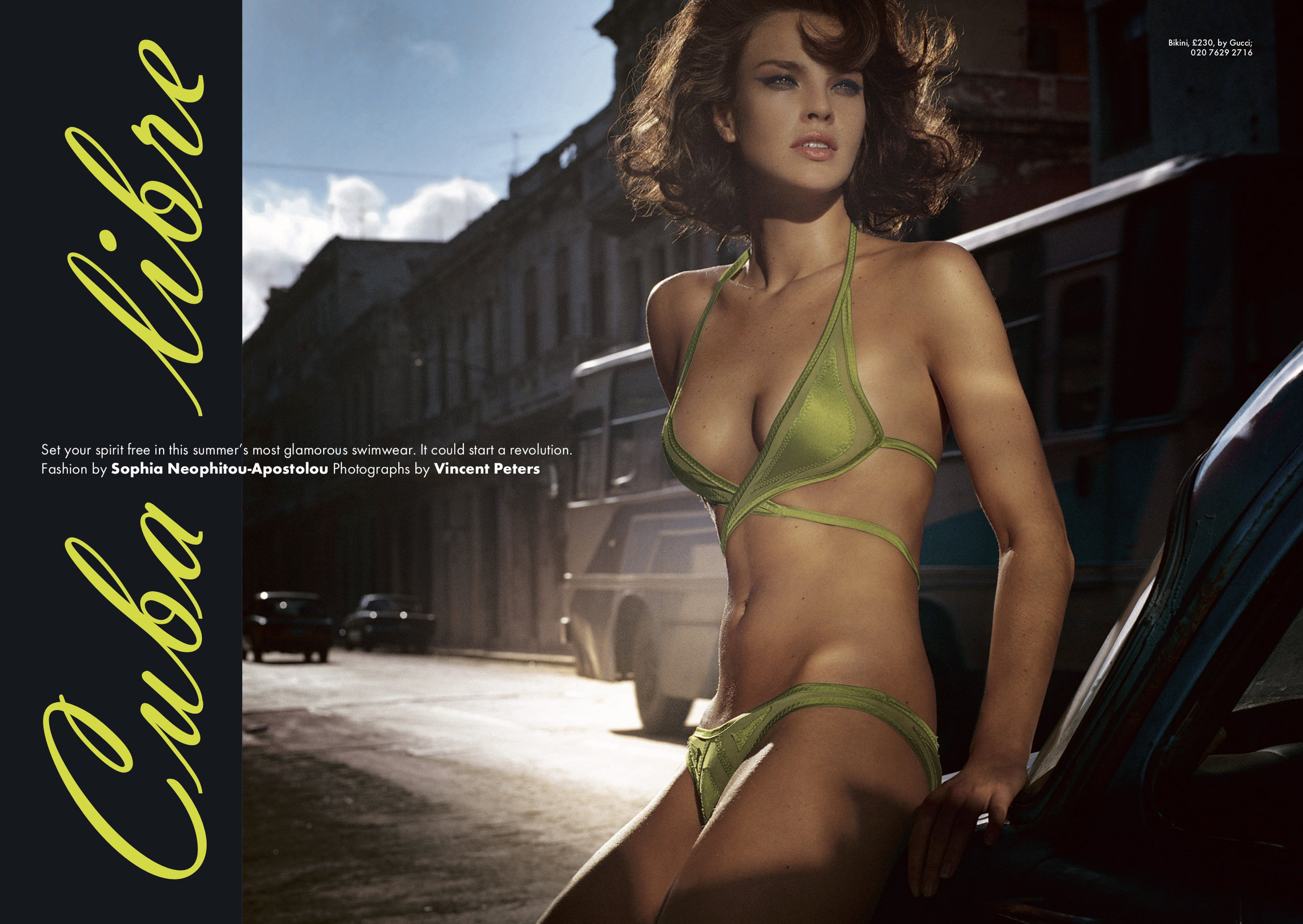 Shot by Vincent Peters, styled by Sophia Neophitou - Apostolou.