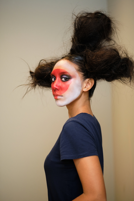 "Vogue ""Extreme Beauty"" Backstage  for Kiko Milano"
