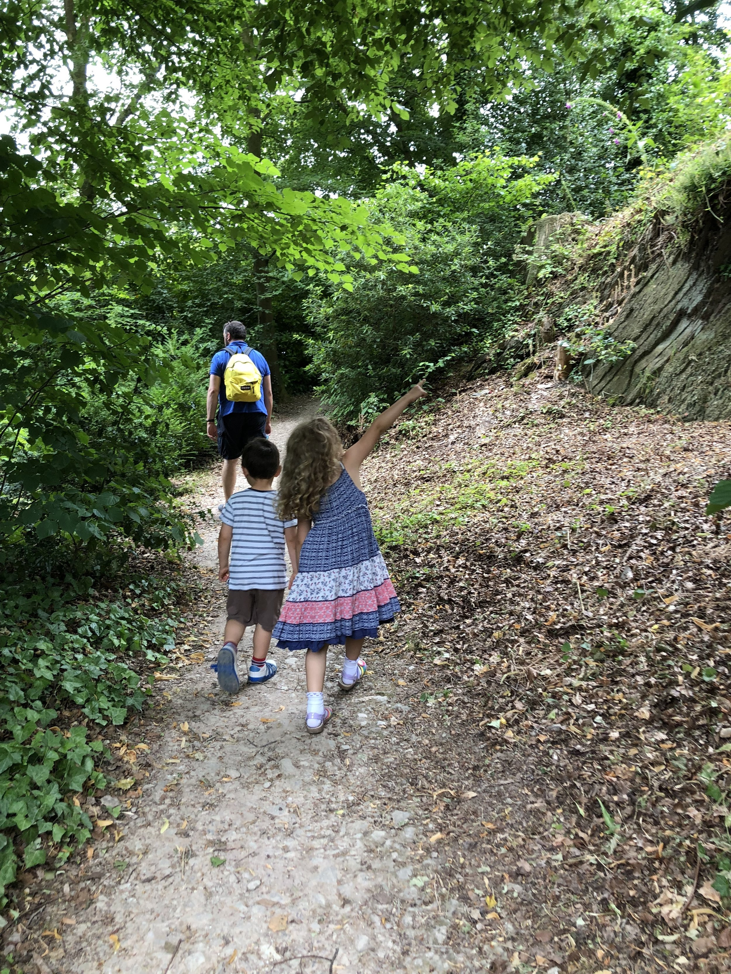 Family Day Out at Hestercombe, Somerset Taunton