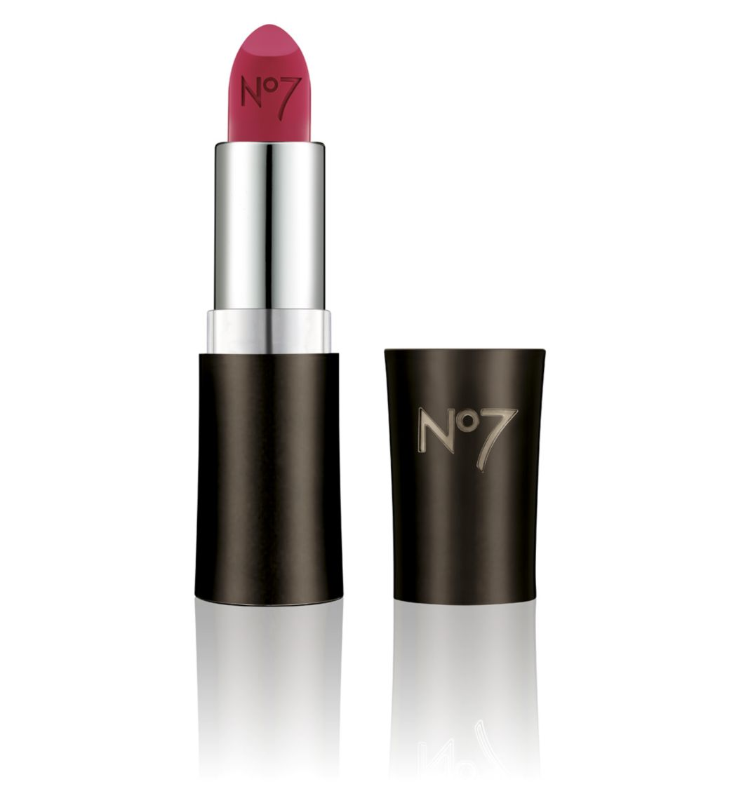 No 7 Moisture Drench Lipstick in Berry Blush