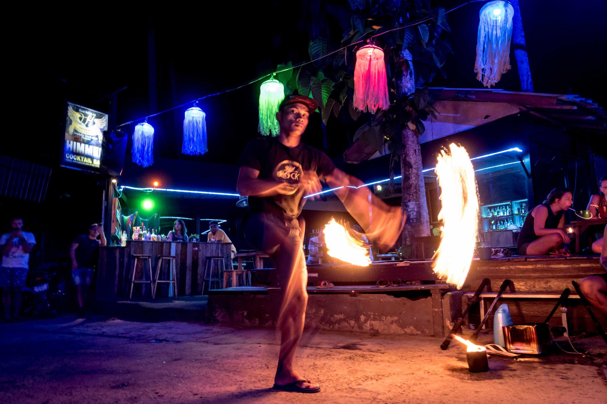 Rupert Turkington - Travel Photo - Fire Dancer - Koh Chang, Thailand