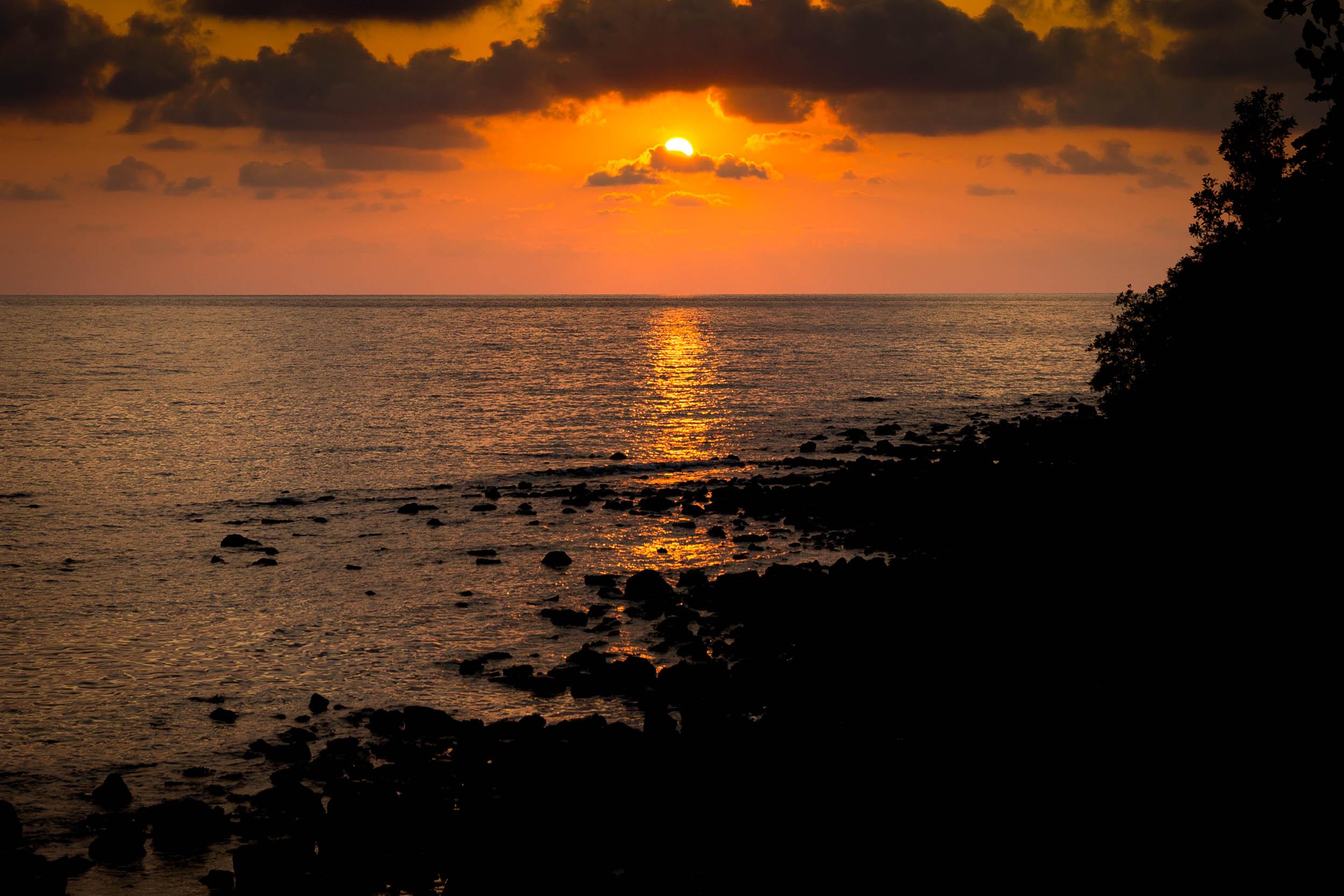 Rupert Turkington Travel Photography - Sunset at Paradis Cottage, Koh Chang Island, Thailand.