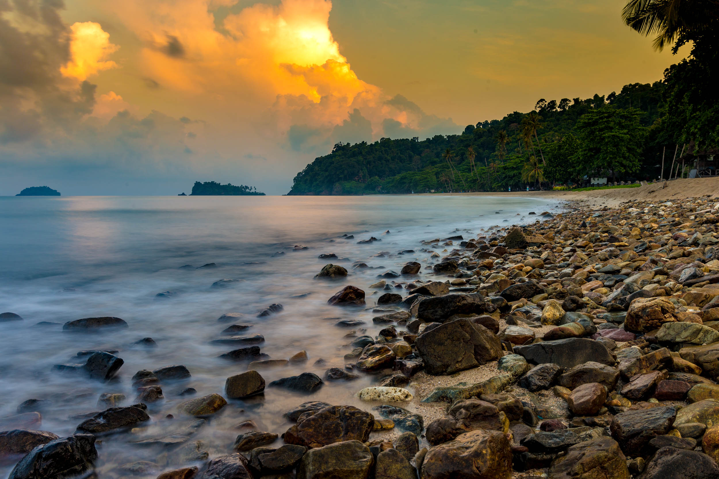Sun Rise - Lonely Beach - Koh Chang, Thailand