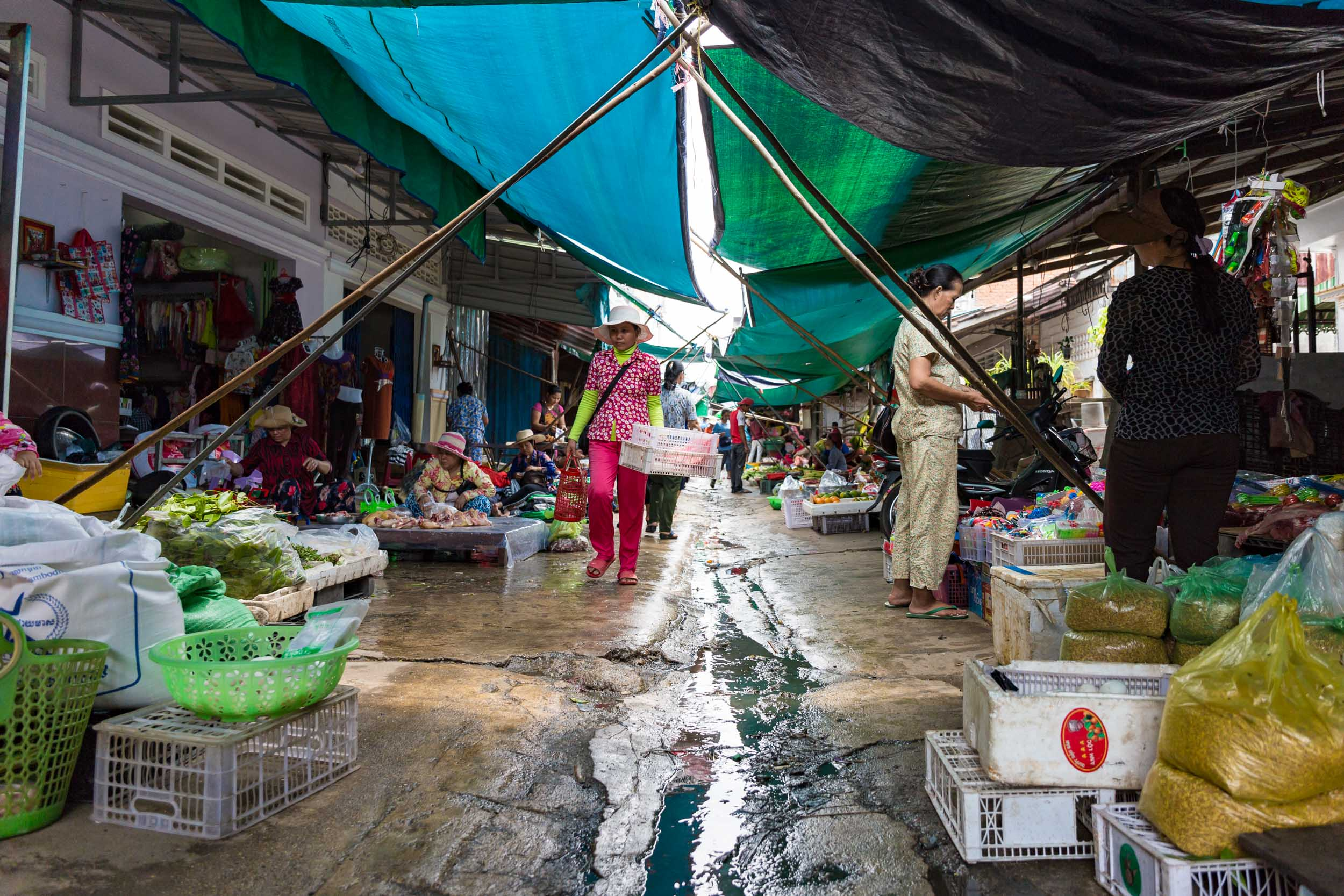 Local Market, Sihanoukville, Cambodia