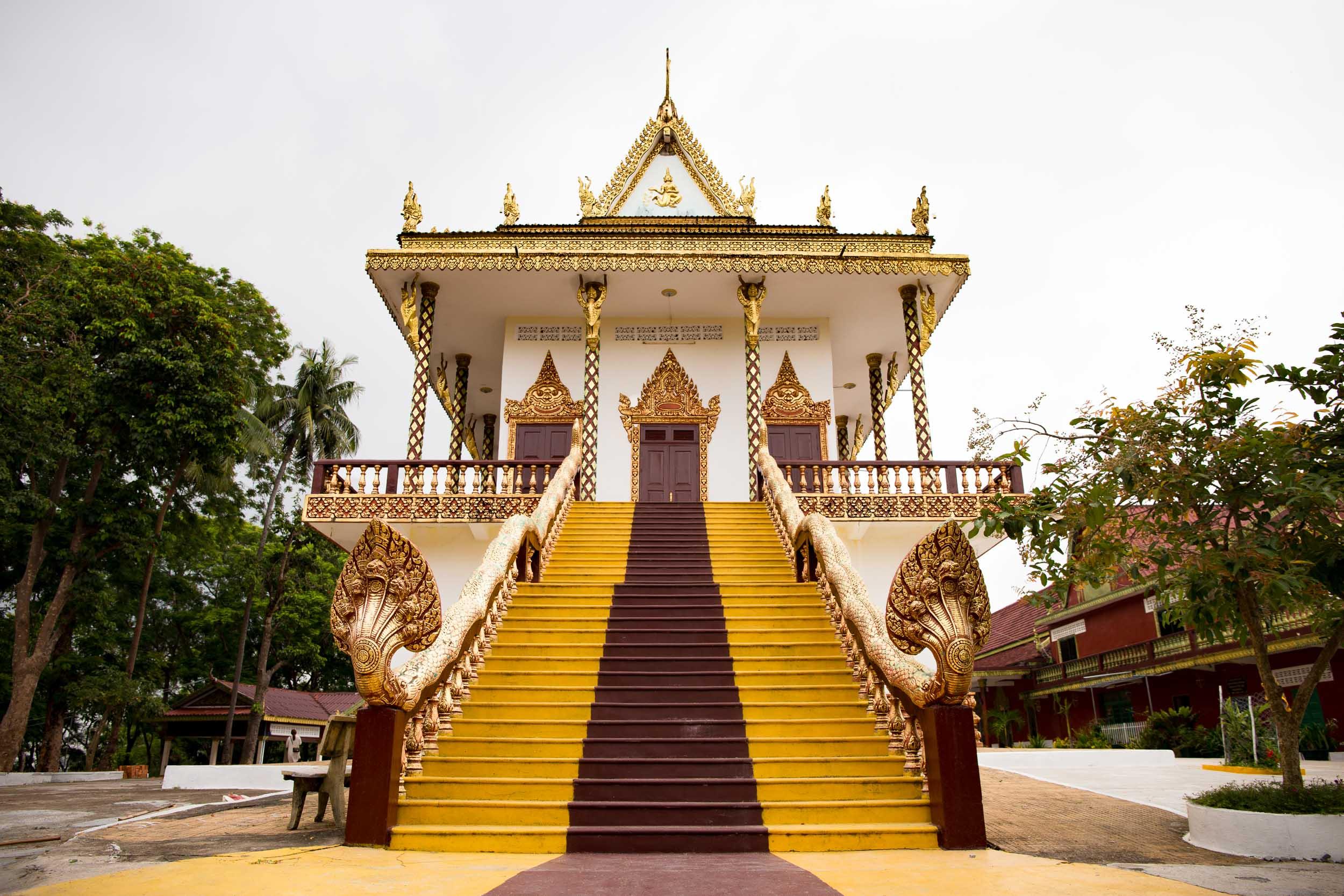 Buddha Temple - Sihanoukville, Cambodia - Rupert Turkington Travel Photography
