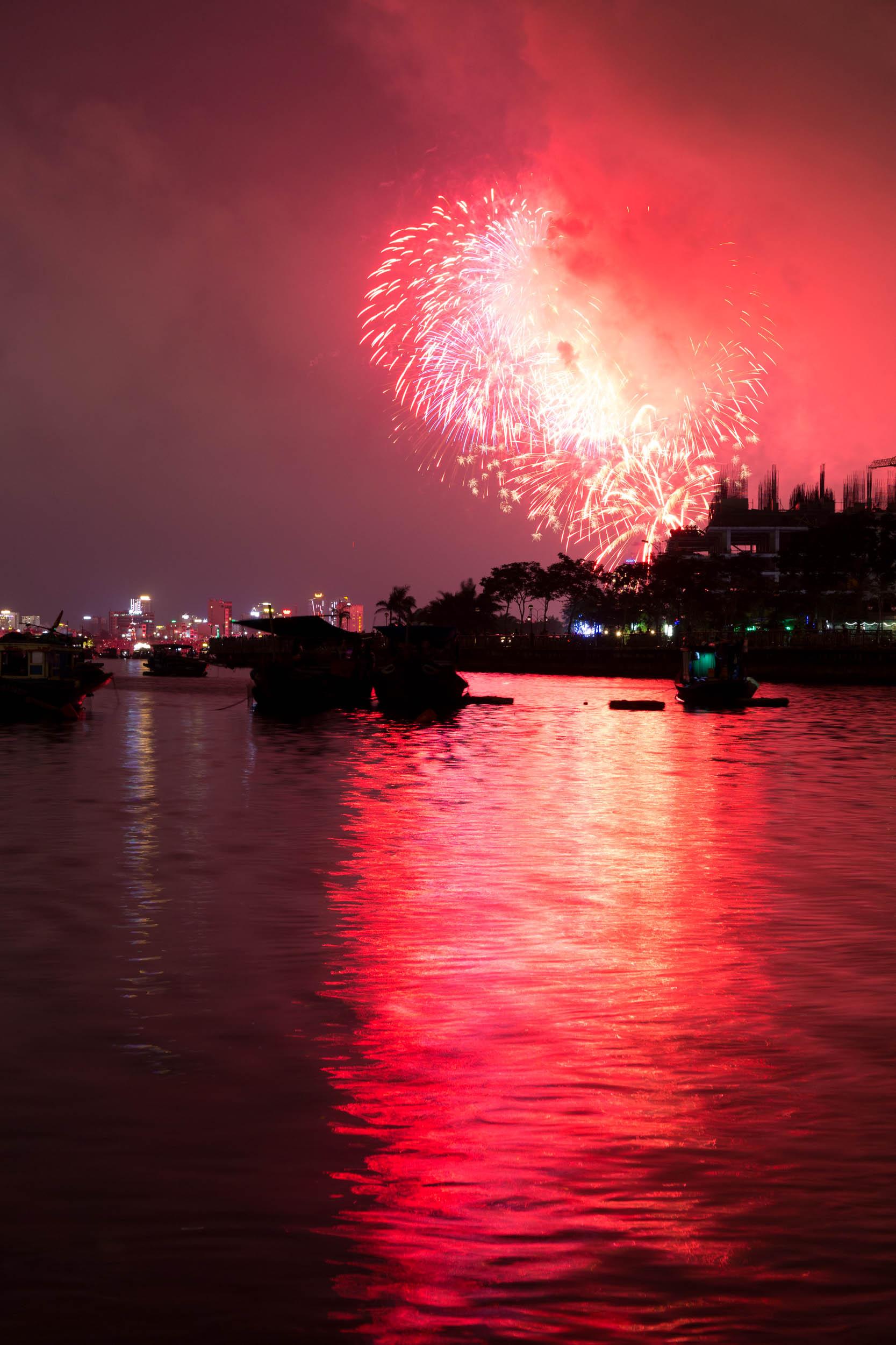 Fireworks, Da Nang, Vietnam