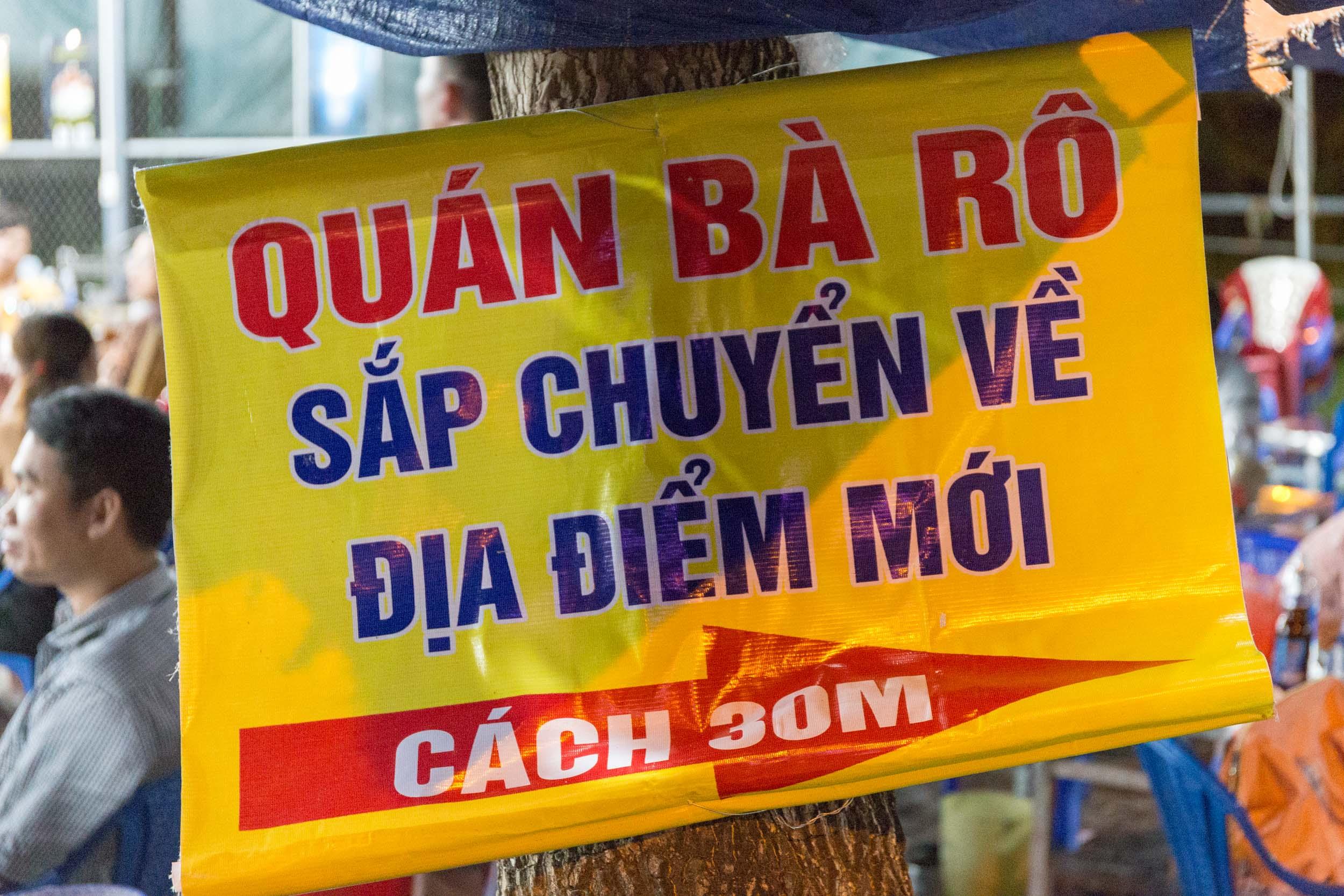 Hải sản Bà Rô, Seafood Restaurant Da Nang, Vietnam.