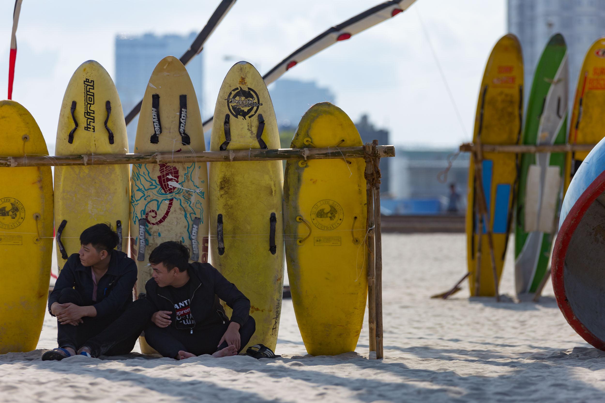 Surfboards Da Nang.