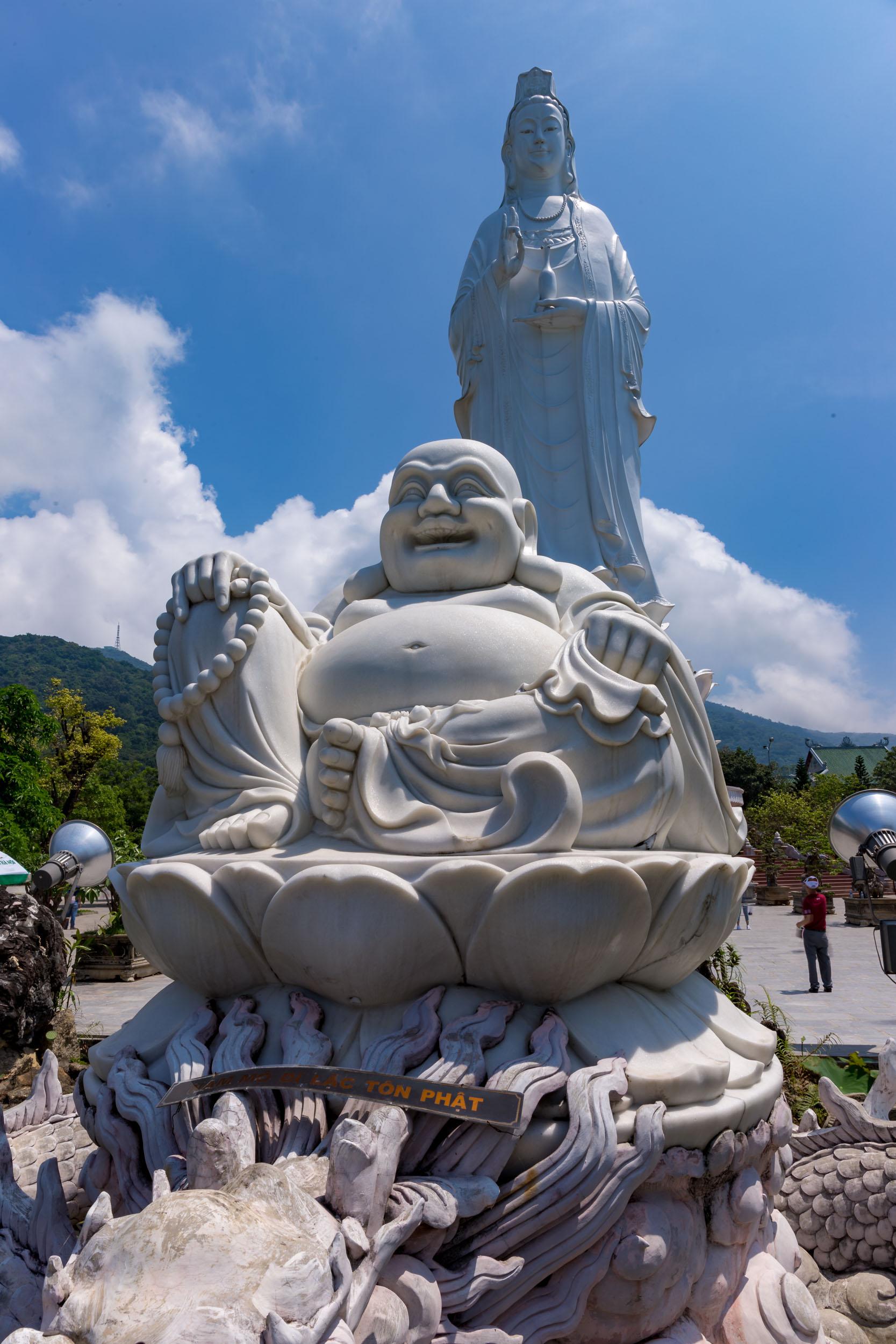 Lady Buddha, Son Tra, Da Nang, Vietnam.