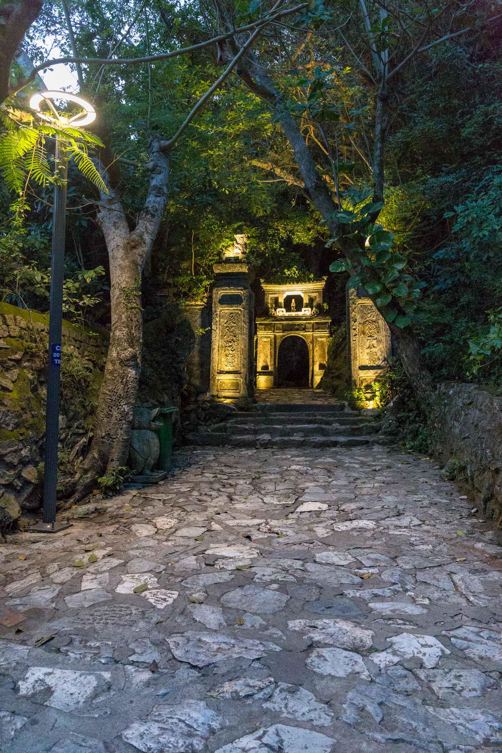 Cave entrance Marble Mountain Da Nang, Vietnam.