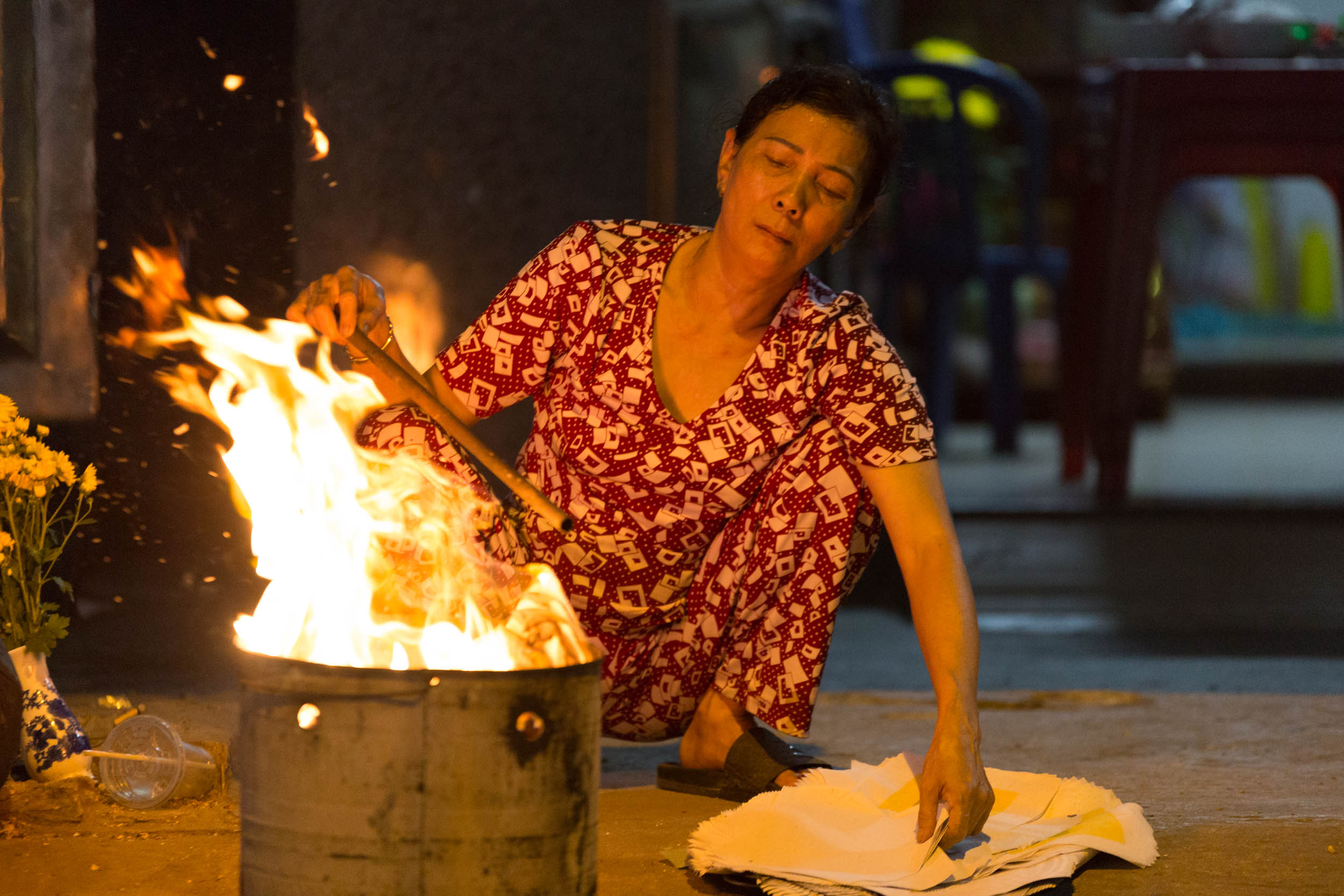 Vietnamese Woman - Burning Spirits