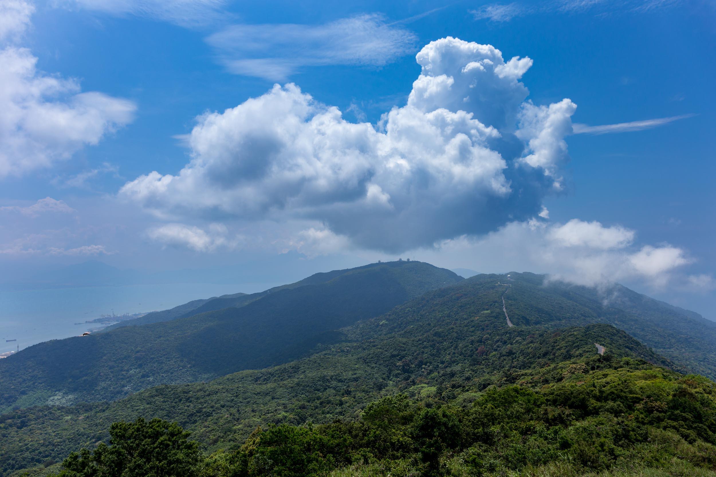 Son Tra Mountain. Da Nang.
