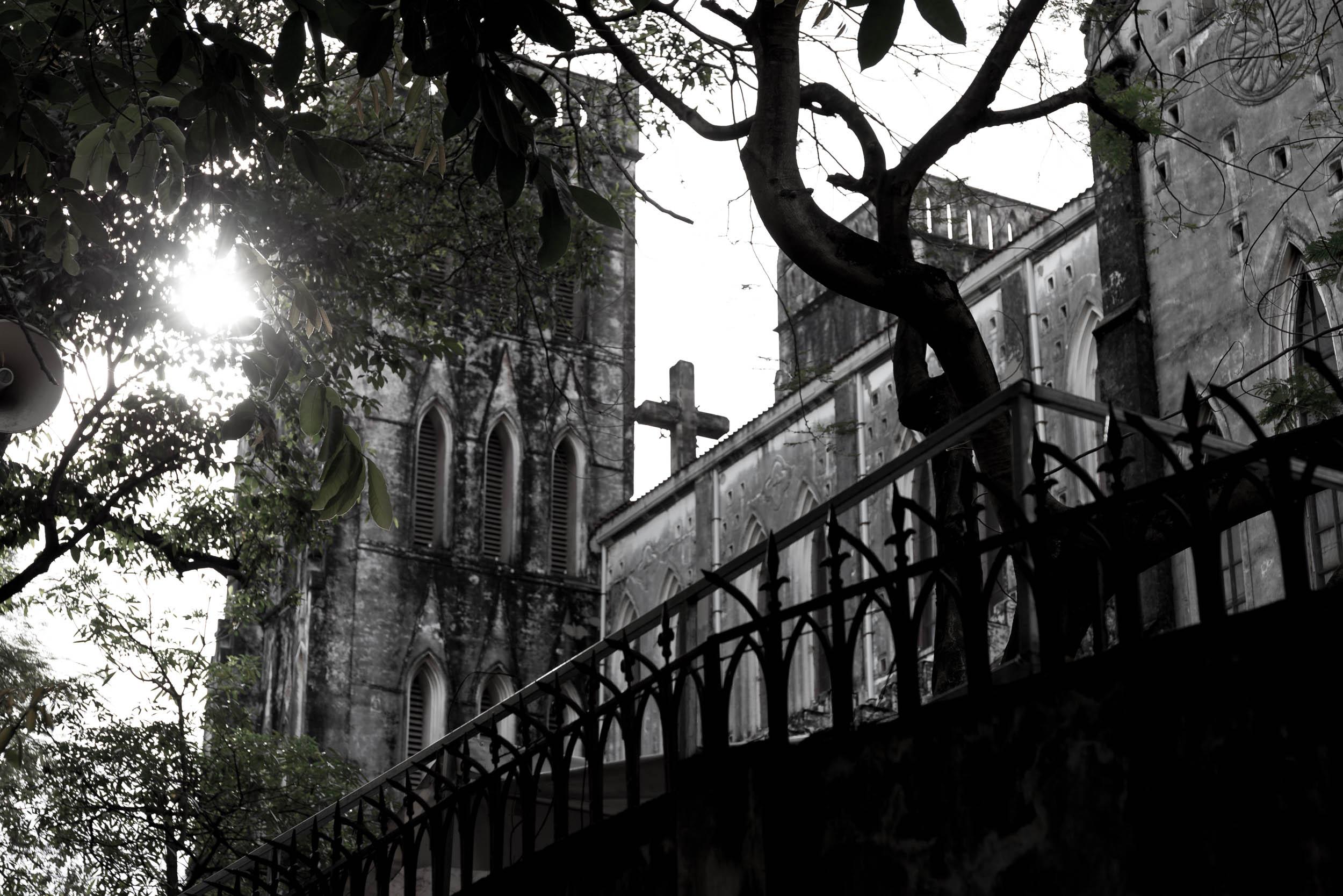 Catholic Cathedral in Hanoi Vietnam