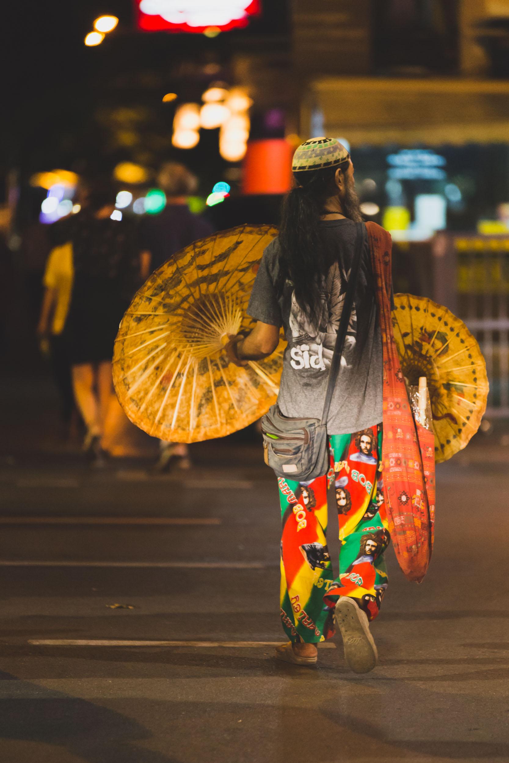 Street Vendor Khao San Road.