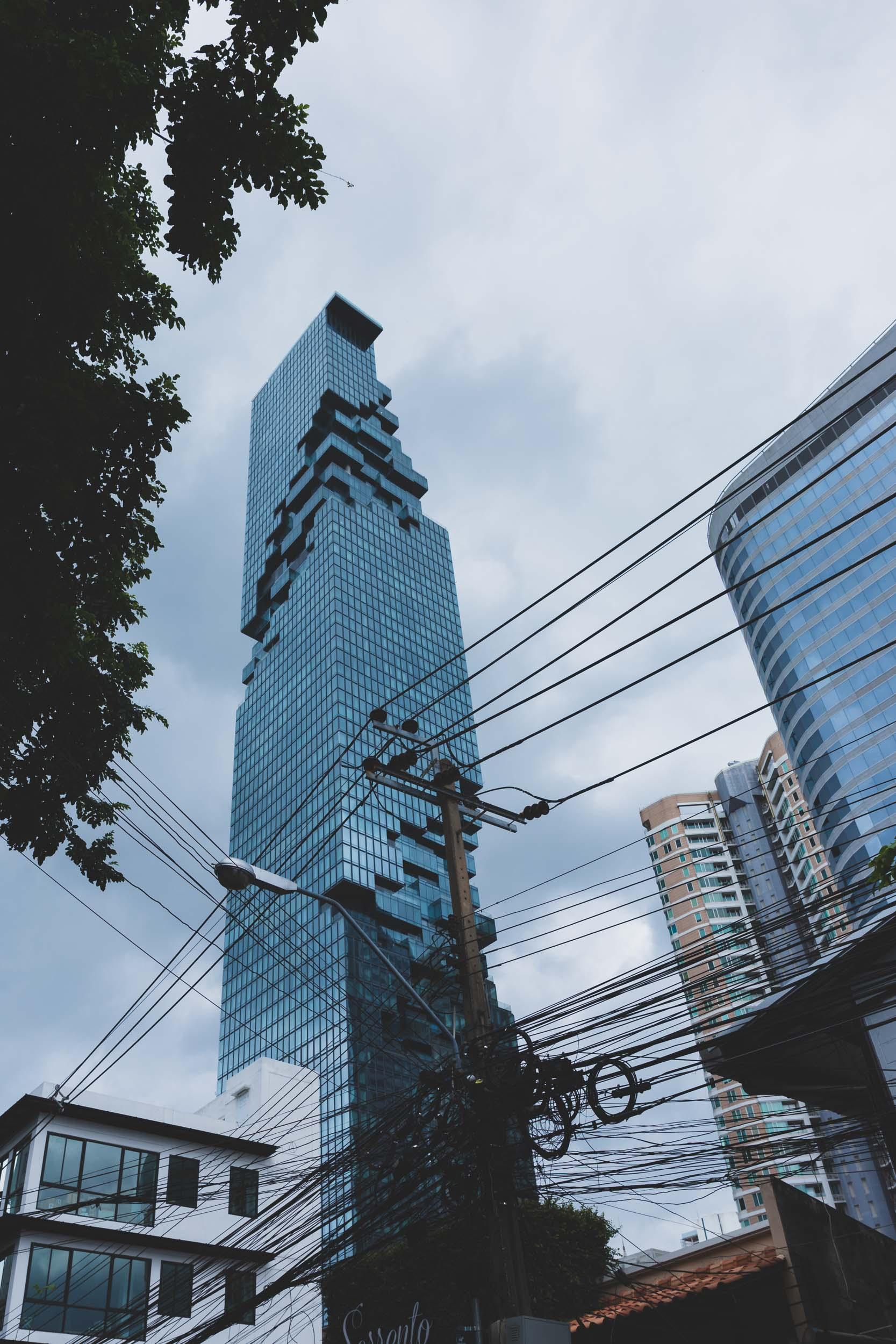MahaNakhon Skyscrapper Bangkok.