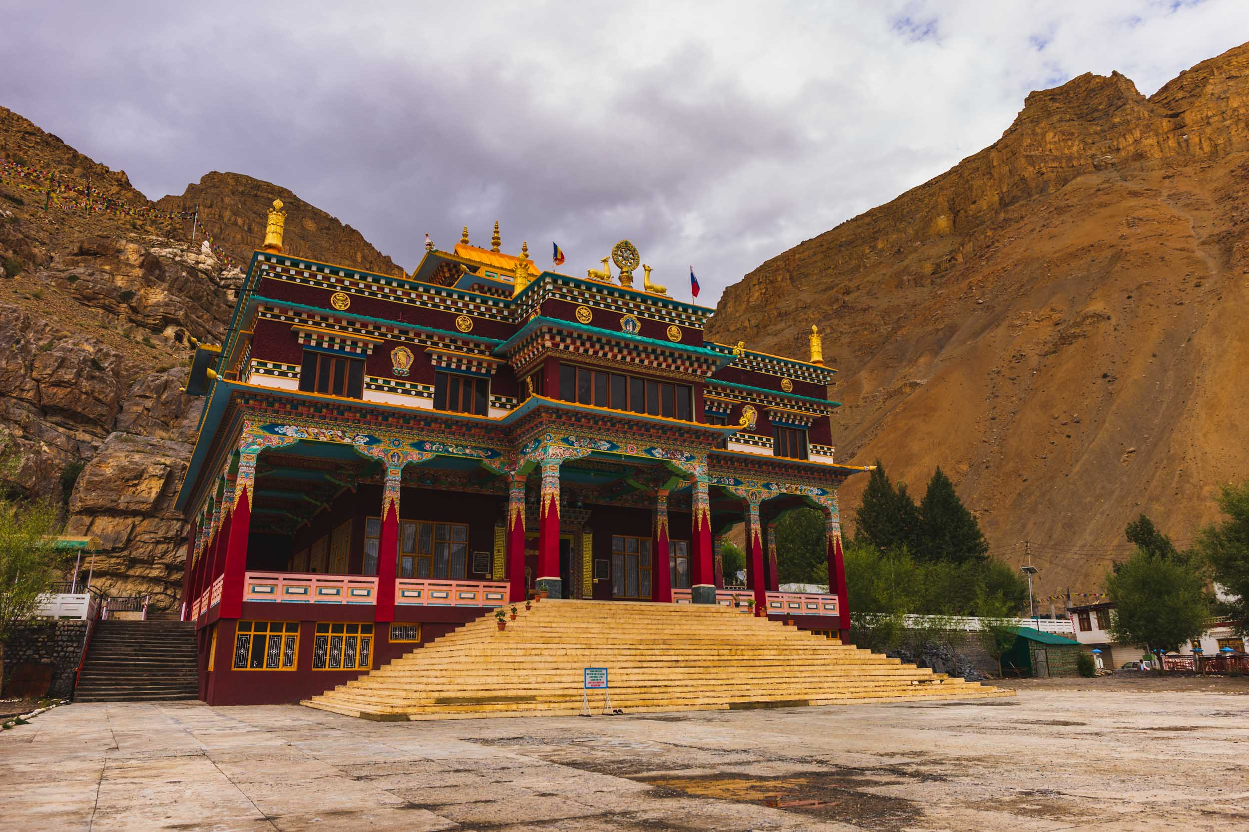 Kaza Temple, Spiti Valley