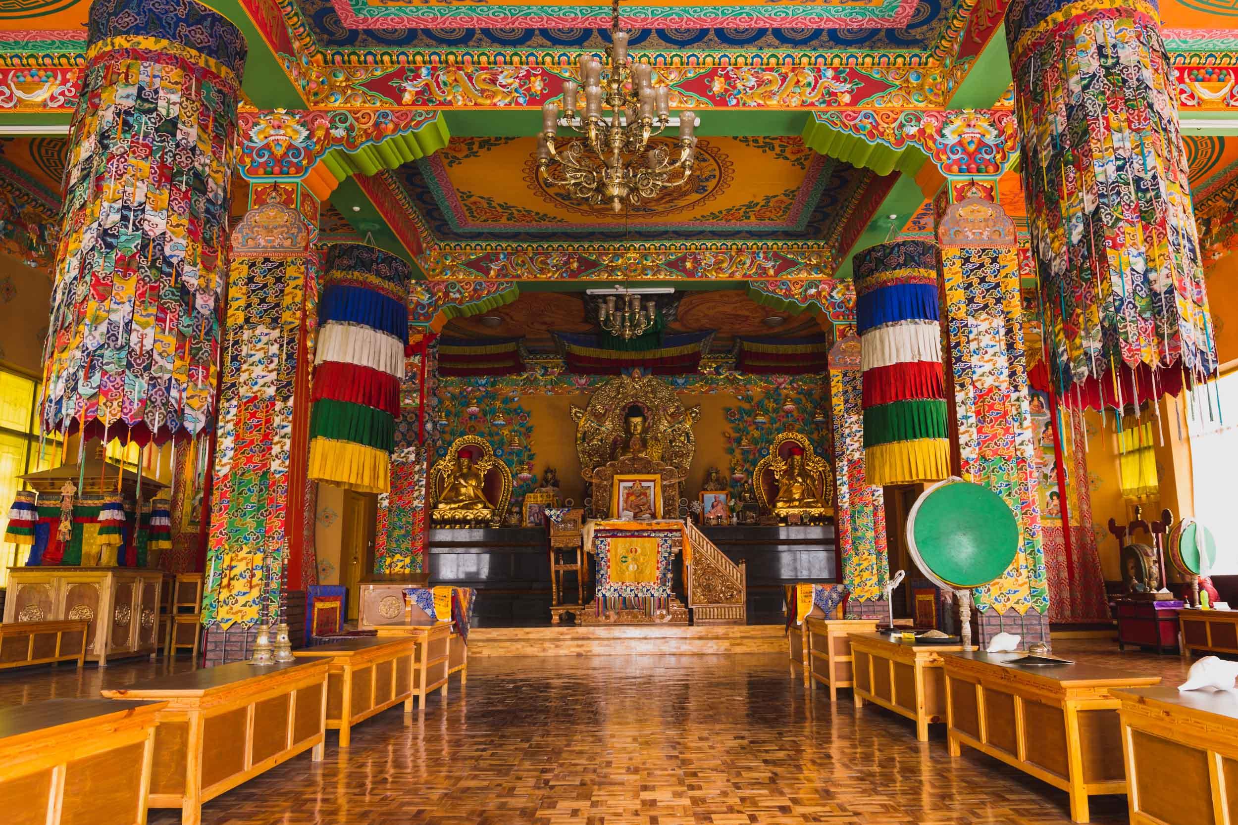 Inside Kaza Temple, Spiti Valley