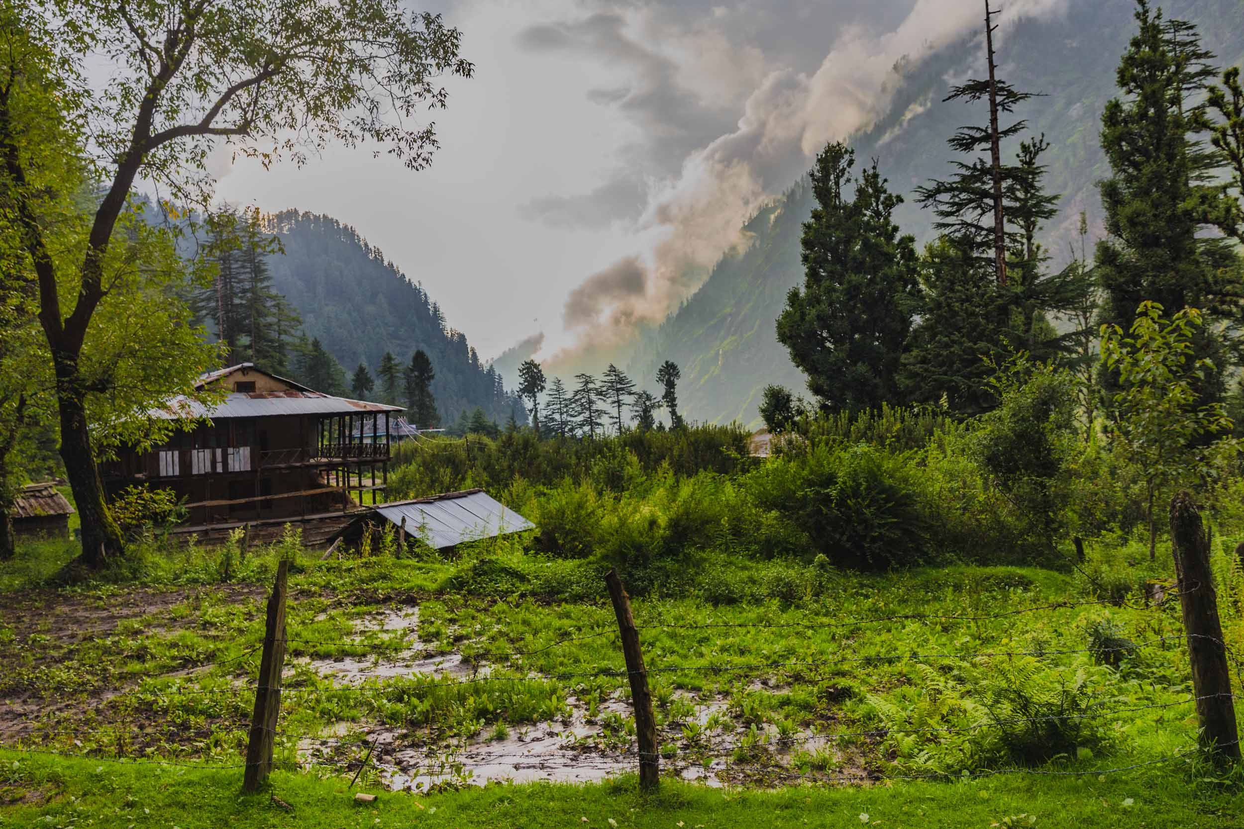 Pulga Village, Parvati Valley.