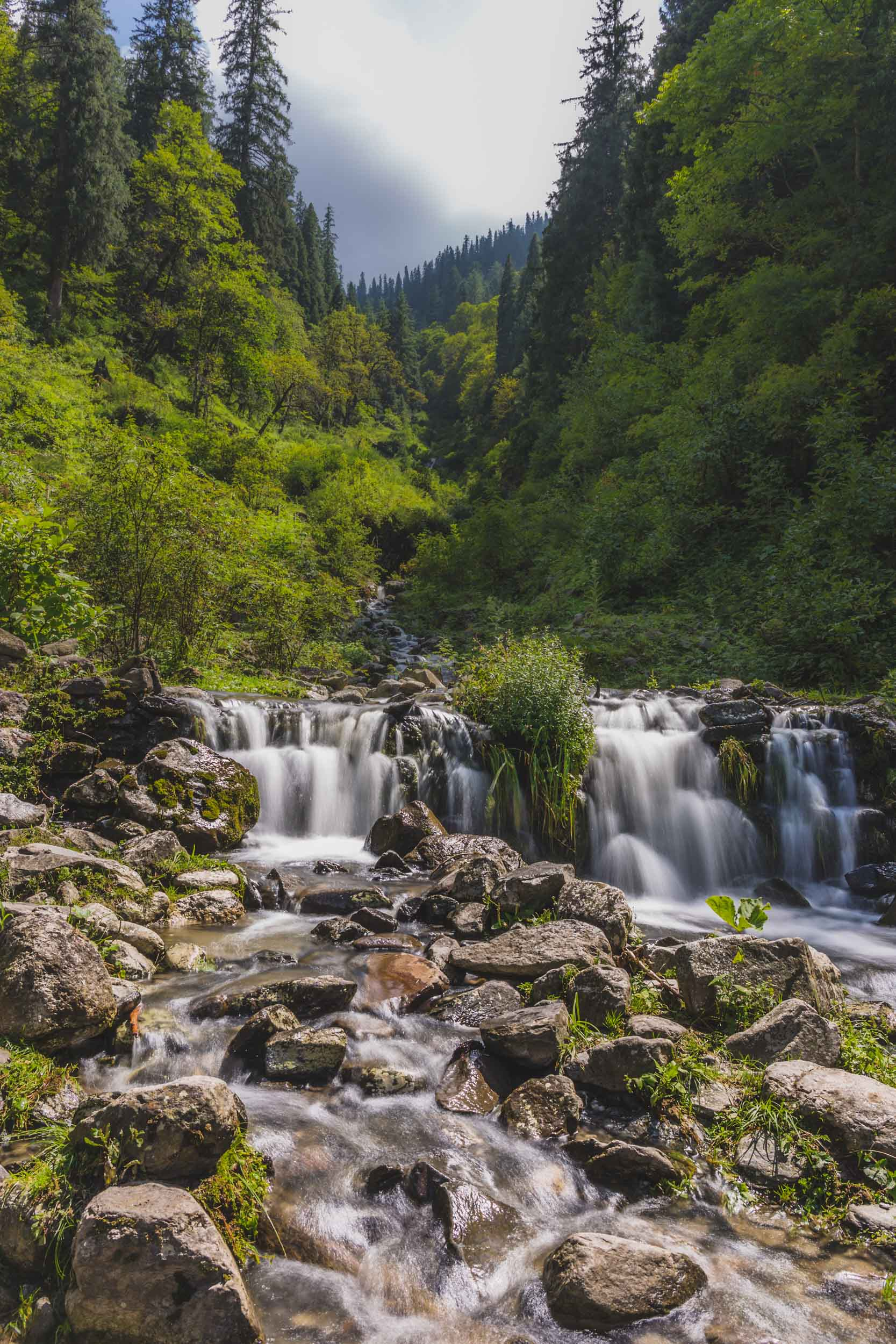 Waterfall, Fairy Forrest, Pulga, India.
