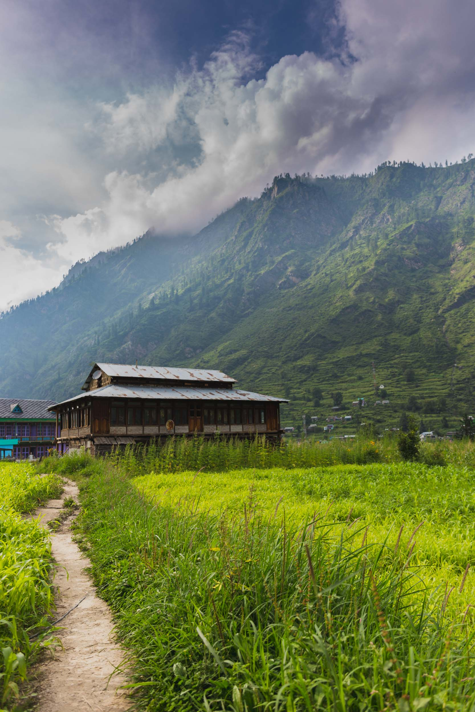 Pulga, Parvati Valley, India.