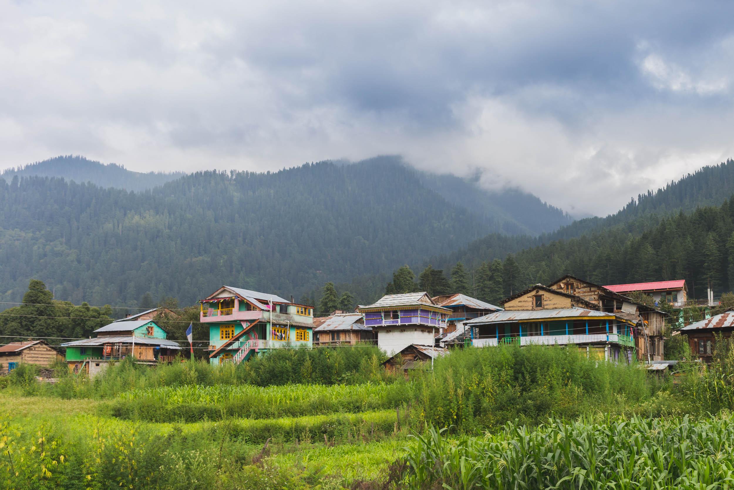 Pulga Village,  Parvati Valley, India.