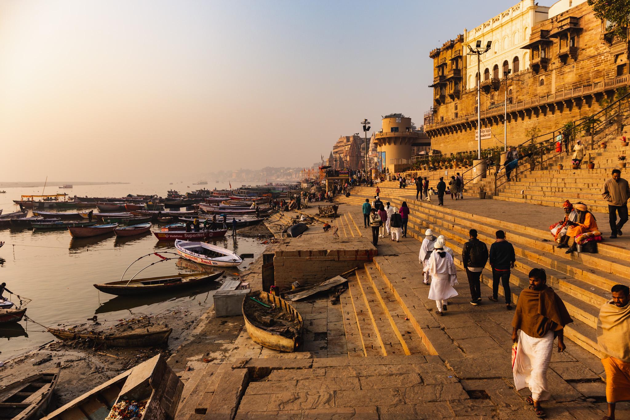 Varanasi River Front