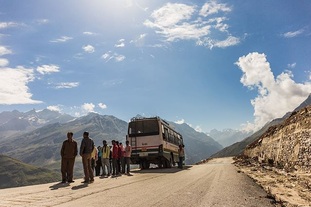 The road to Spiti Valley - Scariest ride of my life! Including a bus crash and having to hitch an HGV ride to the top. The pass is only open 6 months a year due to extreme weather conditions. The cliff road frequenting landslides, floods and death defying stunts performed by fearless drivers. Well worth the trip if you survive the ride in… Complete with the worlds highest post office and fully operational gas station. Got stranded there for a week due to landslide. Had a great time! :D . . . #mountains #spiti #valley #himalayas #kaza #spitivalley #india #travel #photography