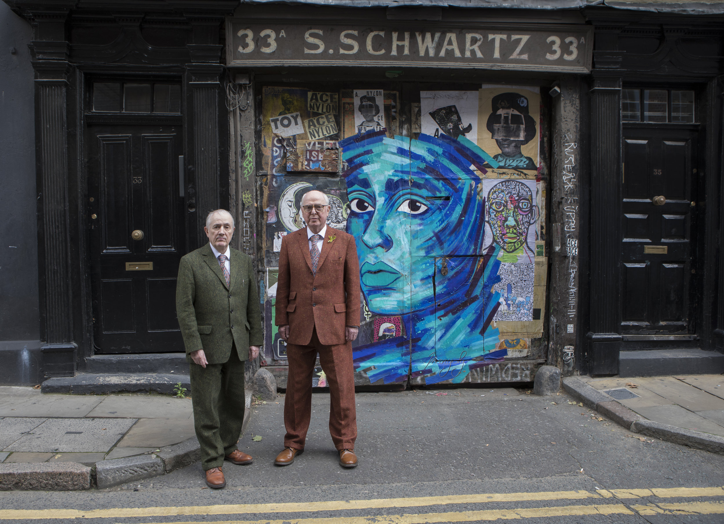 Gilbert and George   See article