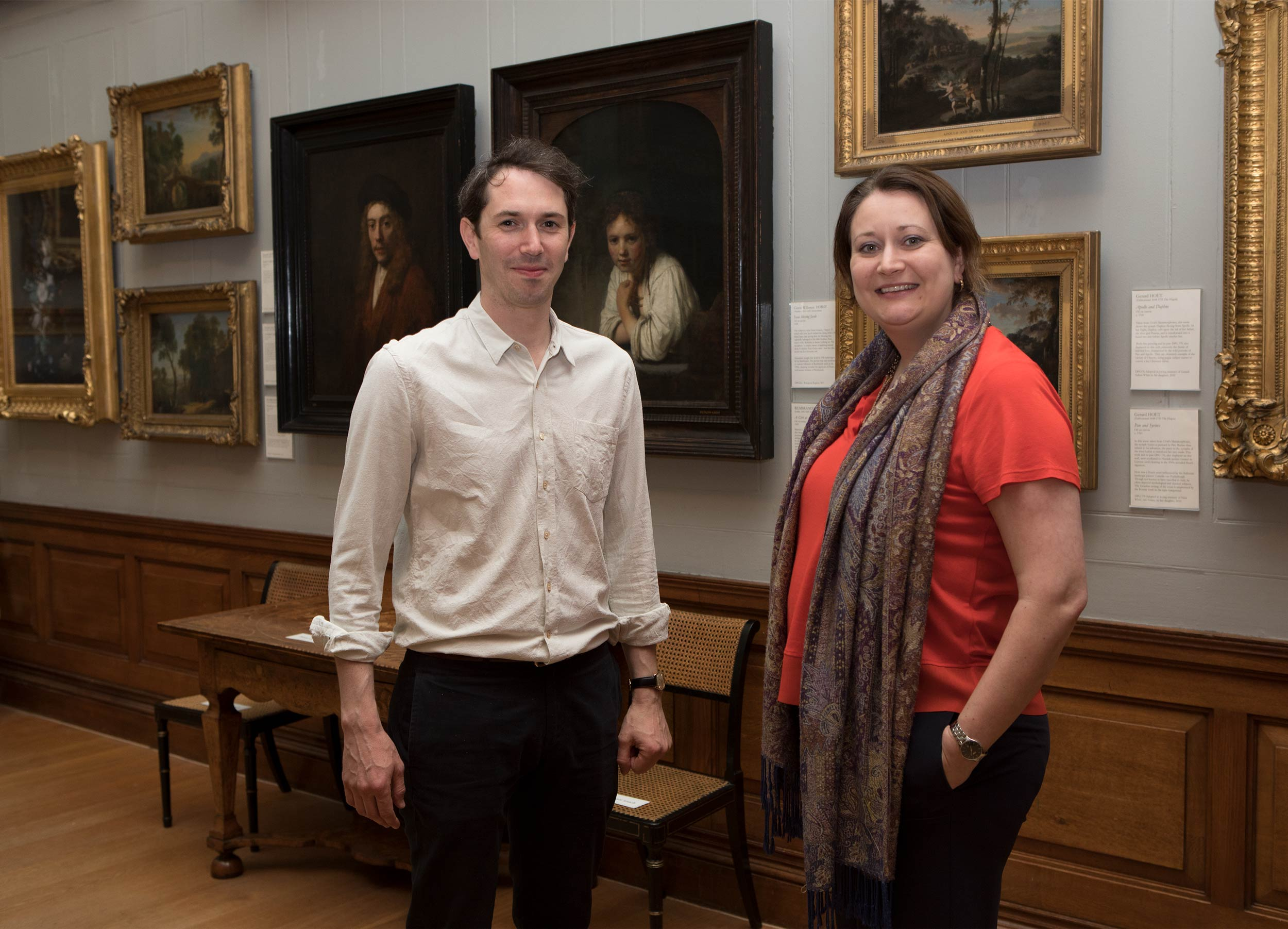 Alastair Sooke and Jennifer Scott  Dulwich Picture Gallery