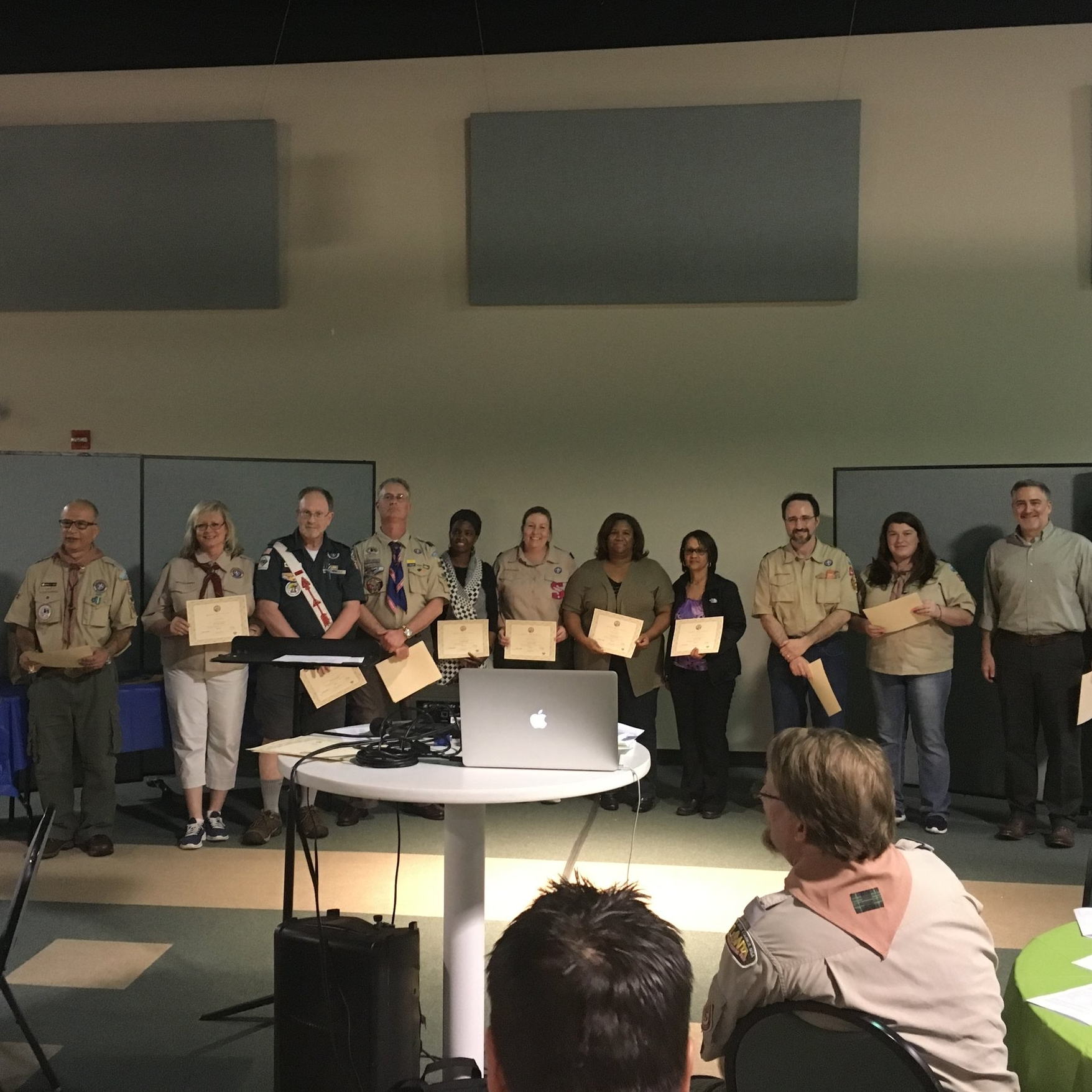 2018 Golden Quill Award recipients (Gillian is in the middle of the picture)