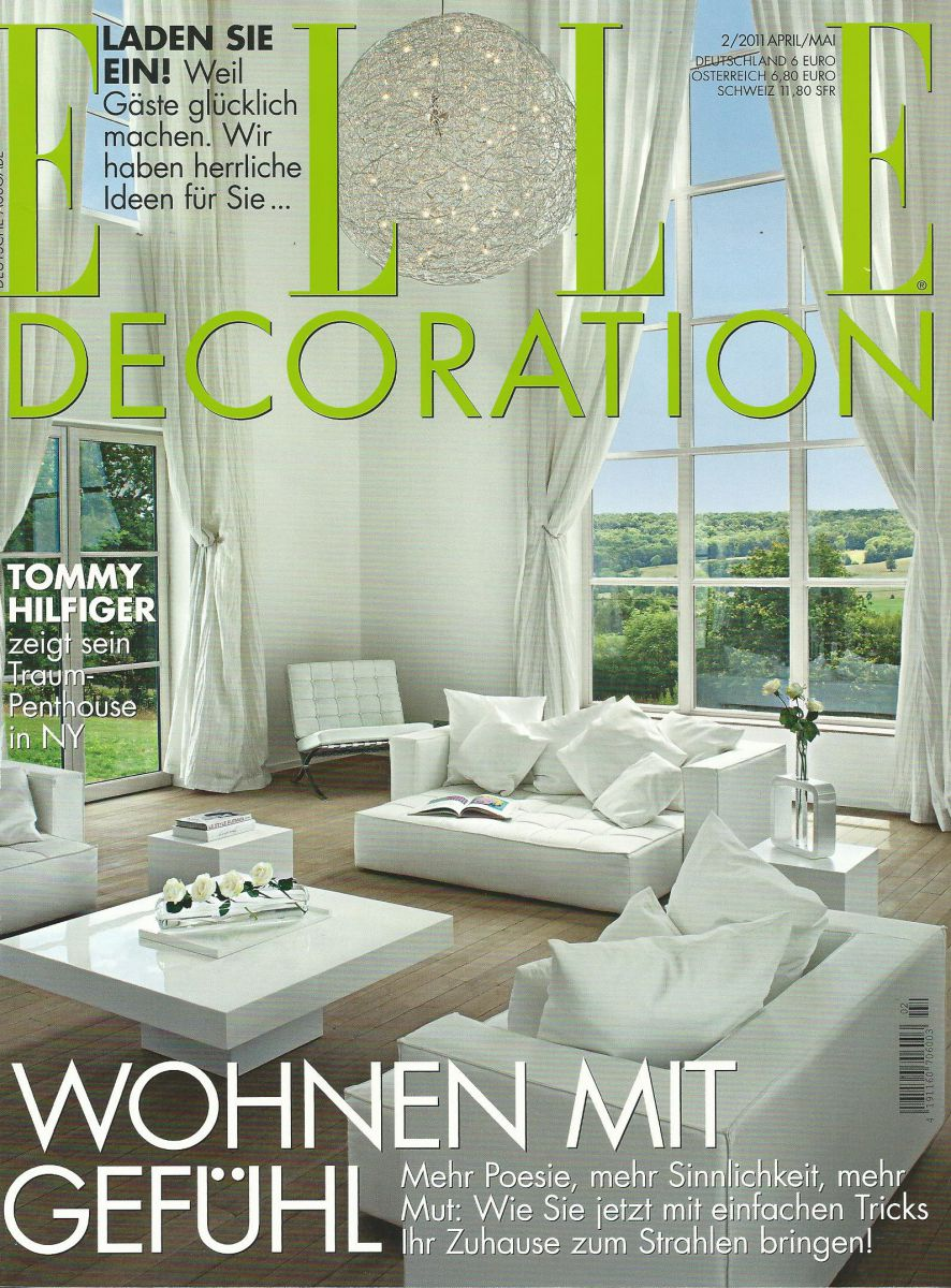 Titelblatt der Elle Decoration