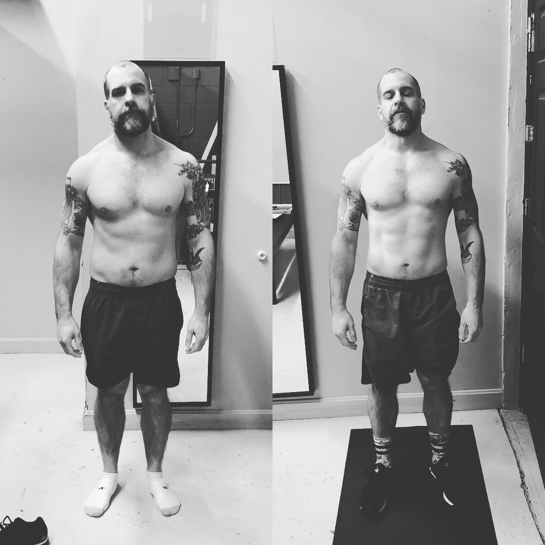 Matt had some of the best results from our last Challenge.