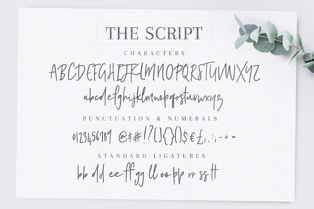 Poppit & Finch font