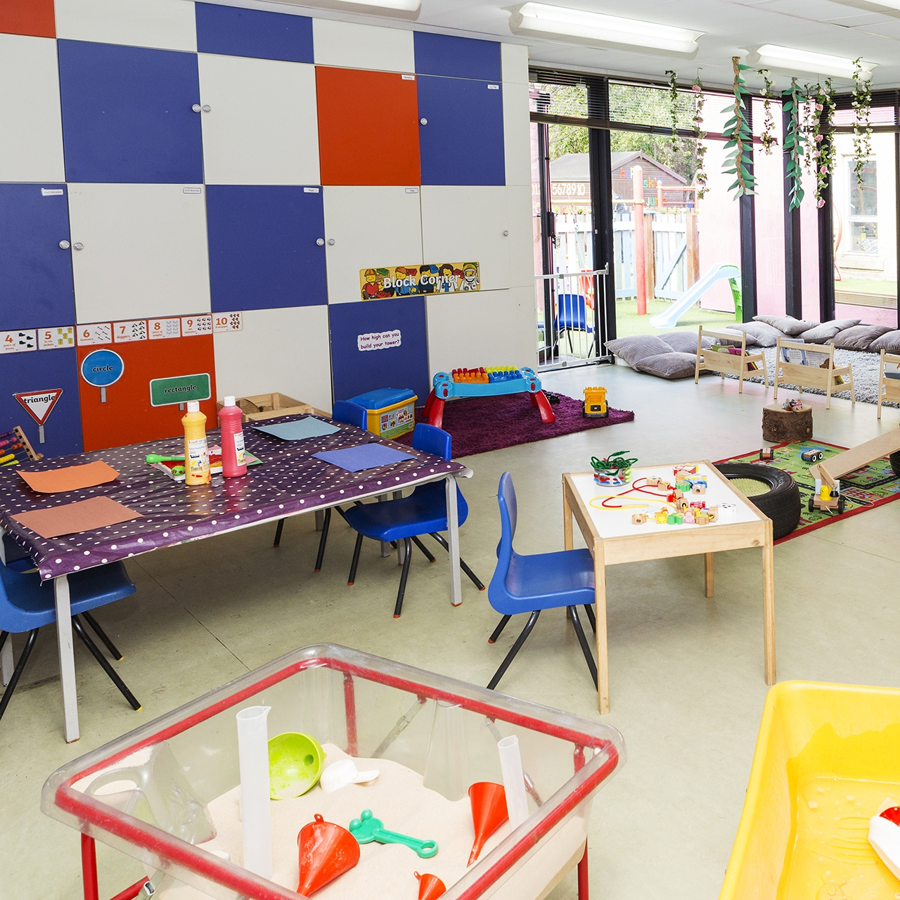 Role Play And technology room -
