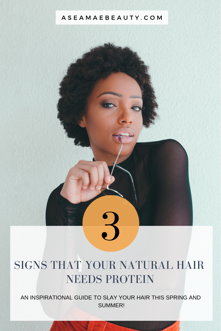 3 Signs That Your Natural Hair Needs Protein