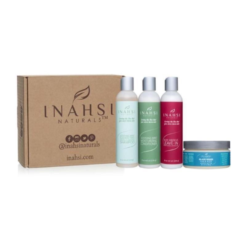 """INAHSI STARTER KIT   This starter kit includes a shampoo, conditioner, leave in, and sealant. All of these products are amazing and smell great! I would recommend getting a deep conditioner and styling product in addition to this set. """" Rock Your Curls """" is amazing for styling your hair! These were formulated by the owner, a natural hair chemist, and they leave your hair and scalp feeling heavenly.   SAVE 15% ON YOUR PURCHASE WITH THE CODE """"ASEAMAE15""""     CLICK TO SHOP"""