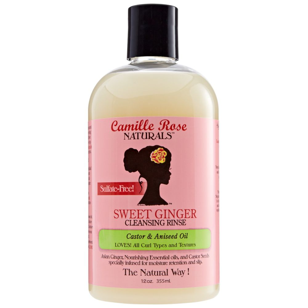 CAMILLE ROSE SWEET GINGER RINSE   This is my favorite store available sulfate-free MOISTURIZING shampoo. This does not substitute the need to clarify your hair occasionally, but it is great for weekly use!   SPEND $20 AND GET A $5 COUPON.     CLICK TO SHOP