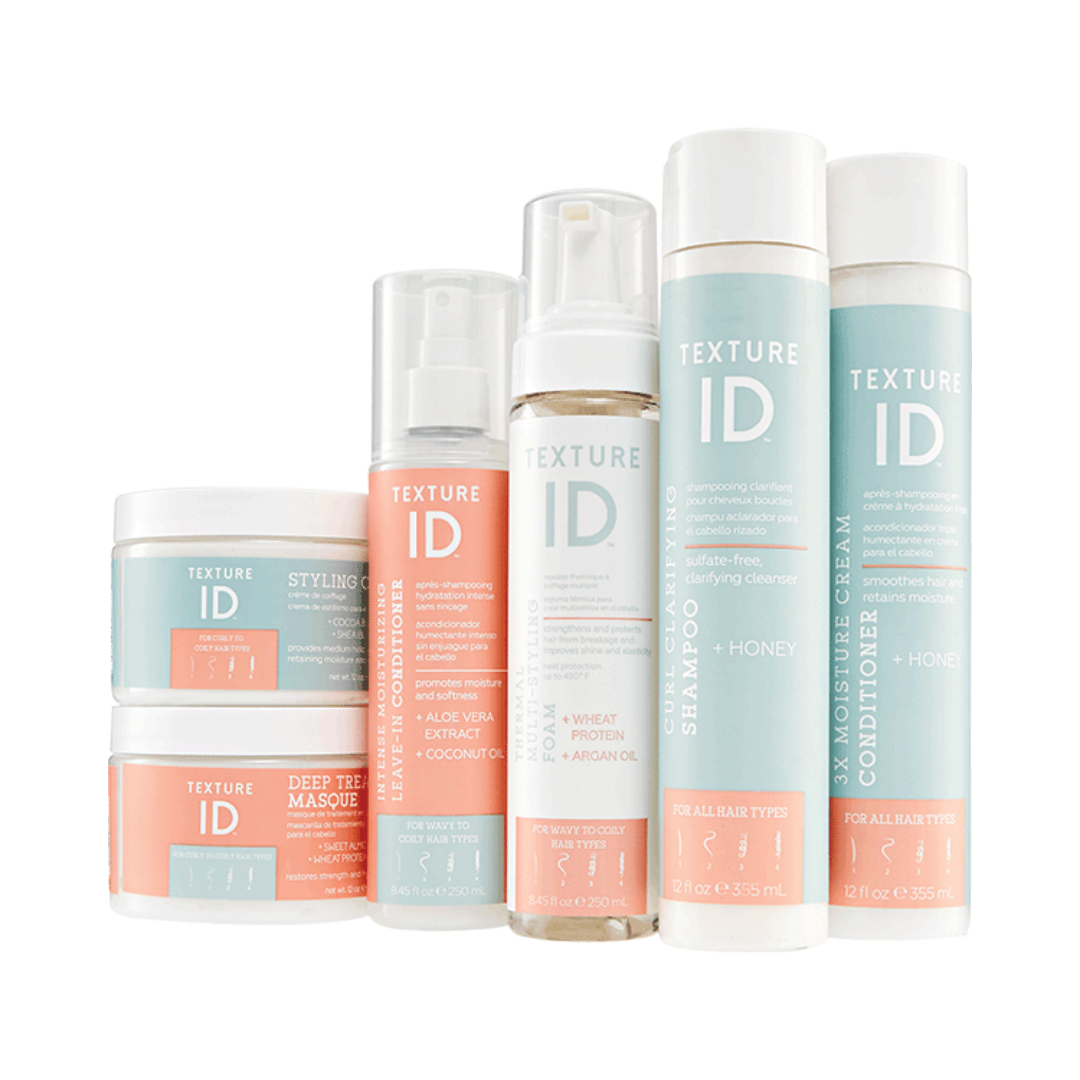 TEXTURE ID   This collection is most affordable and works very well on natural hair. It's not my favorite, but it is great for those who have tight funds but still want something with great ingredients to use in their hair.   CURRENTLY 20% OFF AT SALLY BEAUTY.     CLICK TO SHOP