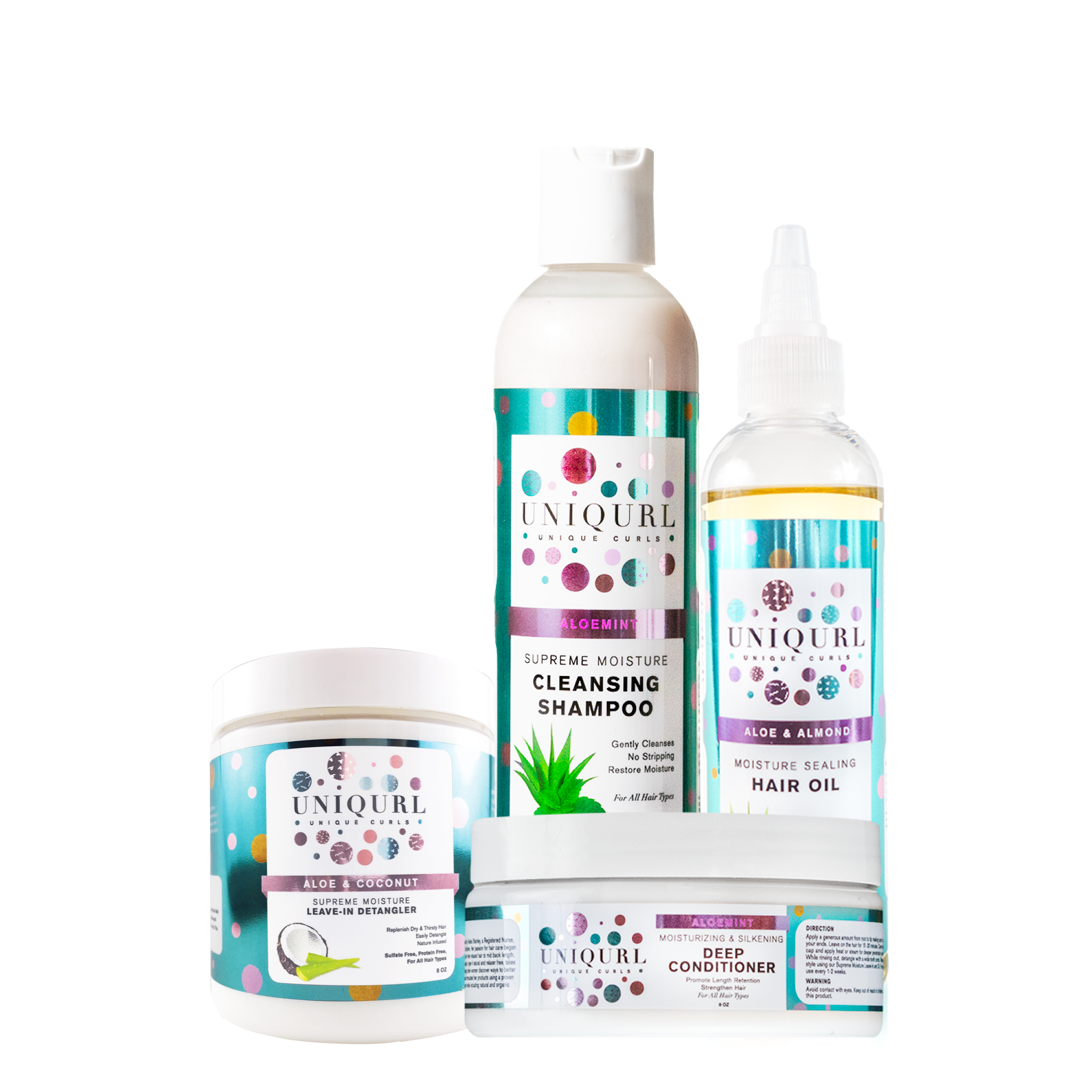 UNIQURL THE ALOE COLLECTION   Ah-mazing! This collection is PERFECT for women who also have children that are natural. I love this for my twins. It is a simple system to use and leaves their hair feeling amazing. The de-tangling styler is perfection.   SAVE $10 ON THIS COLLECTION TODAY! OFFER EXPIRES 24 HOURS AFTER WEBINAR.     CLICK TO SHOP