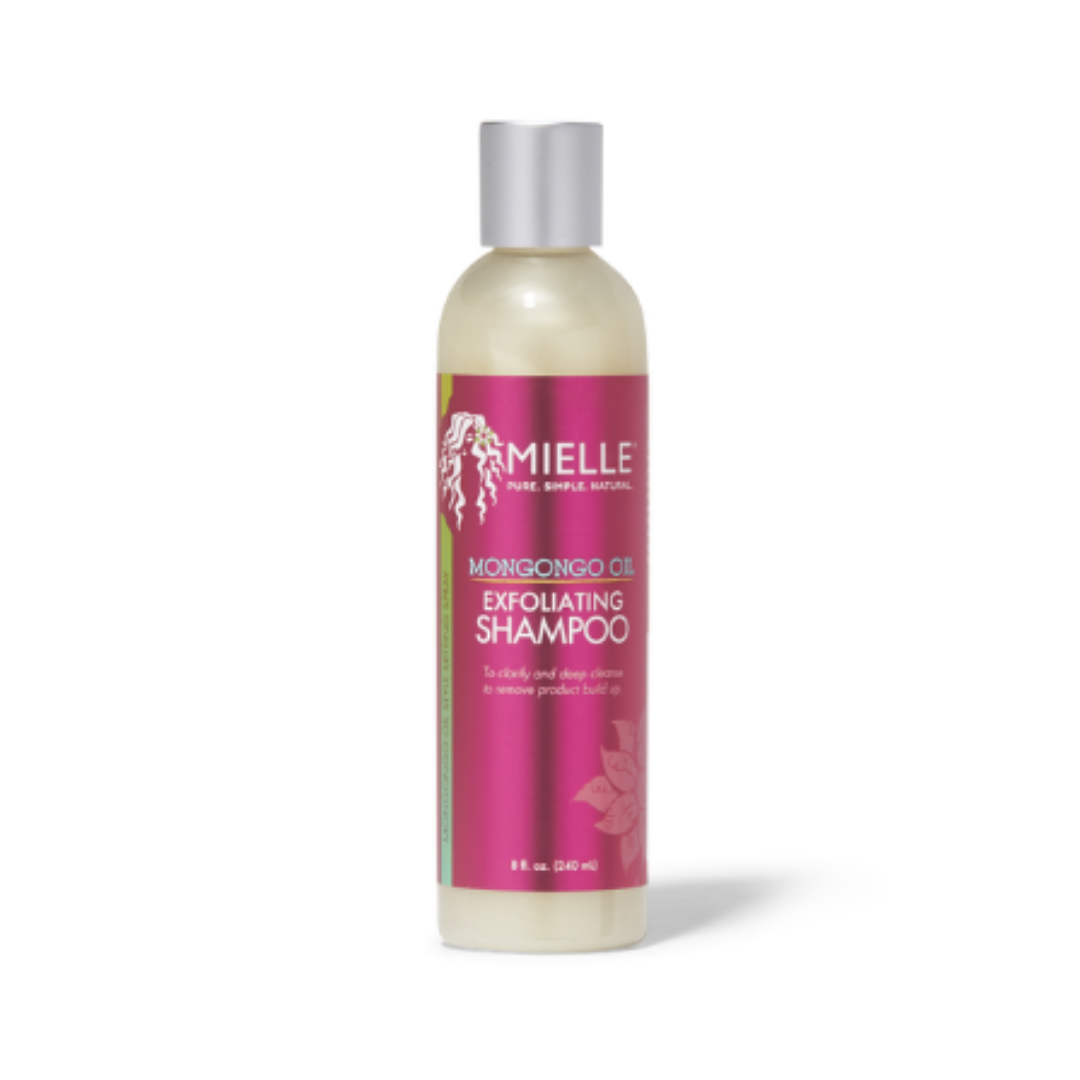 MIELLE ORGANICS EXFOLIATING SHAMPOO   This is a bomb clarifying shampoo! I have hit empty on this multiple times and always repurchase. I love it because it's unscented. It's perfect for sensitive skin and sensitive scalps.   CURRENTLY 20% OFF AT SALLY BEAUTY.     CLICK TO SHOP
